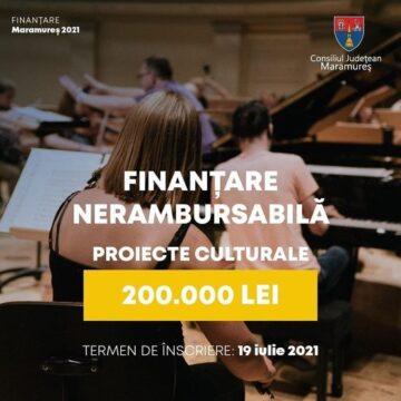 Finanțare nerambursabilă pentru proiecte culturale maramureșene în valoare totală de 200.000 lei