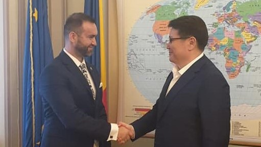 """Cristian Niculescu-Țâgârlaș: """"Sunt optimist în ceea ce privește colaborarea parlamentară între România și Kazahstan"""""""