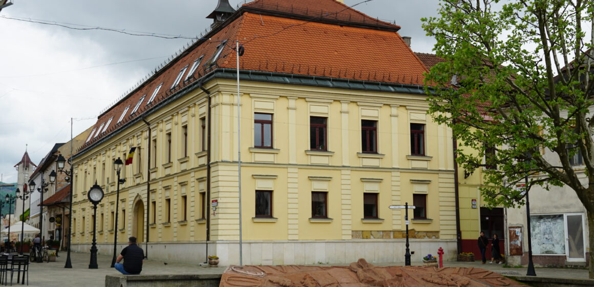 Hanul Vulturul Negru din Baia Mare, o clădire istorică emblematică