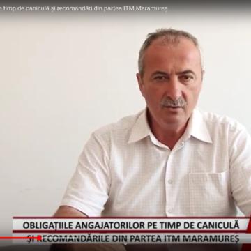 VIDEO   Obligațiile angajatorilor pe timp de caniculă și recomandări din partea ITM Maramureș