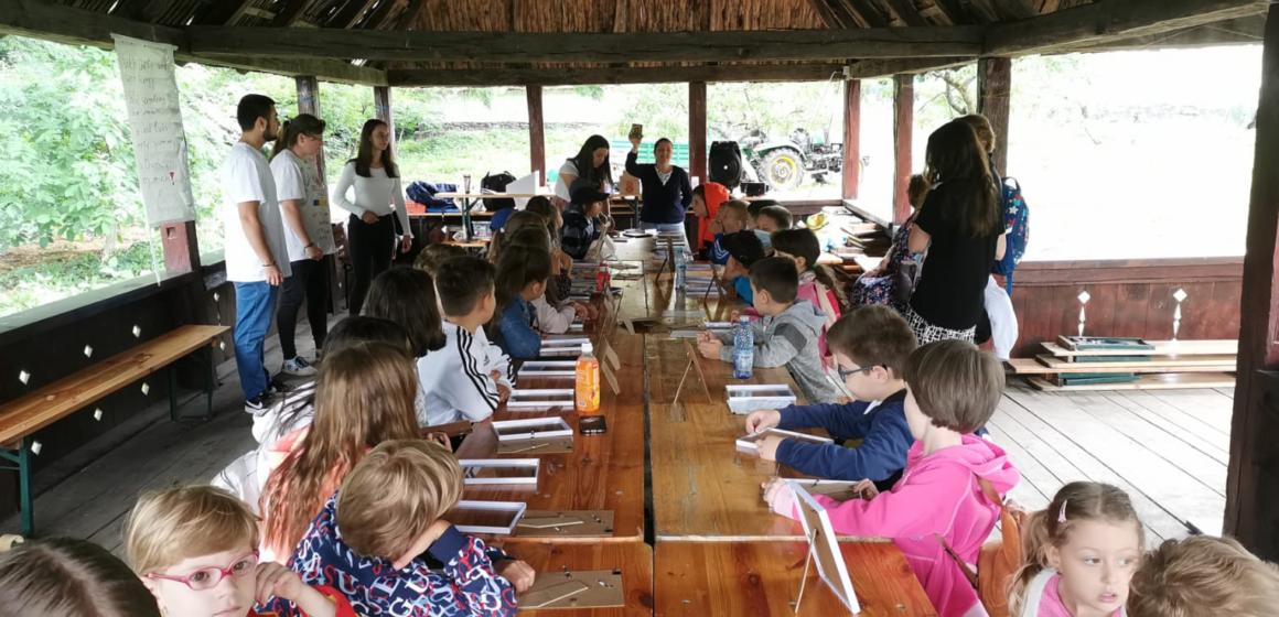 Video | Ateliere de vacanță pentru copii, la Muzeul Satului
