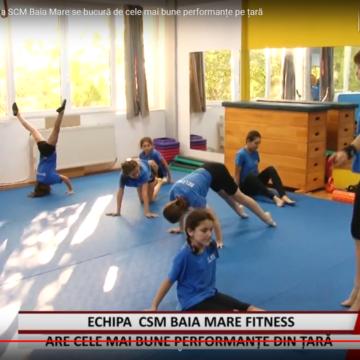 REPORTAJUL ZILEI | Echipa de cadeți al secției fitness CSM Baia Mare se bucură de cele mai bune performanțe pe țară