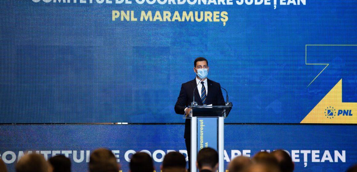 """Ionel Bogdan: """"Mulțumesc colegilor pentru încrederea pe care mi-au acordat-o pentru un nou mandat de președinte al PNL Maramureș"""""""