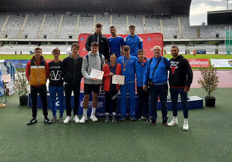 Medalii pentru atleții băimăreni la Campionatele Internaționale ale României