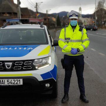 Infracțiune rutieră și furt depistate de polițiști în Șomcuta Mare
