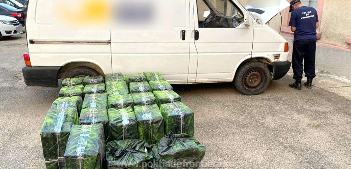 Video   Maramureșean reținut după ce a fost prins cu aproape 15.000 de pachete cu țigări de contrabandă