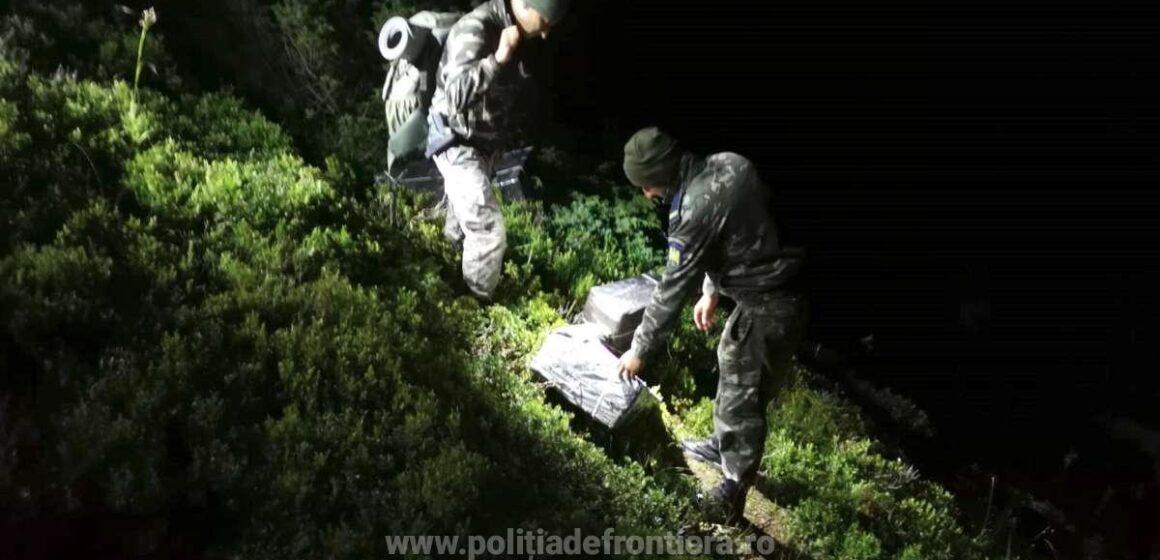 Video | Împușcături la graniță. Țigări s-au găsit, contrabandiști nu