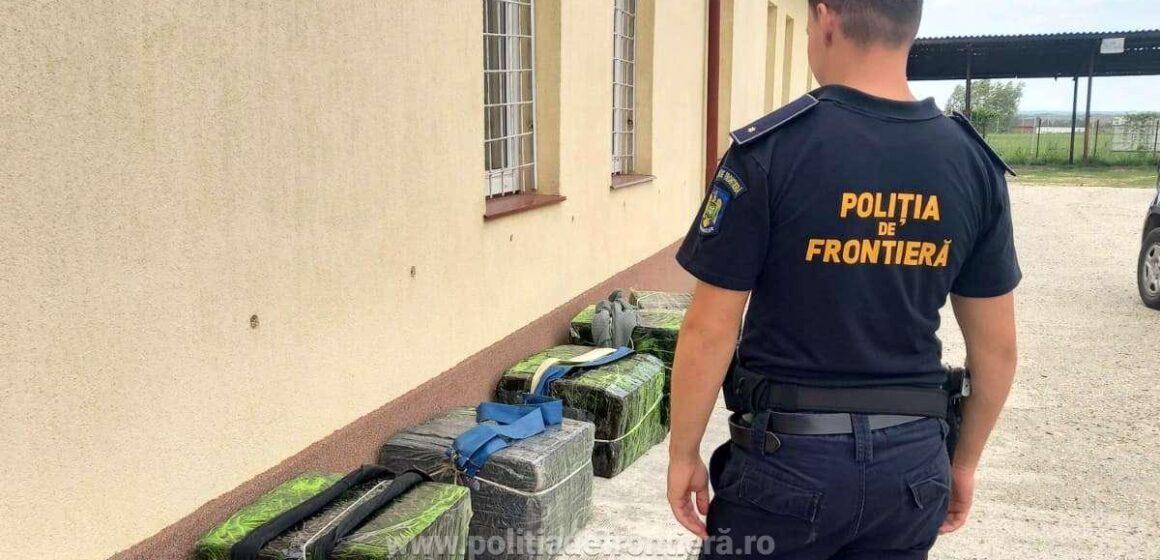 Un ucrainean reținut şi aproximativ 20.000 pachete de ţigări de contrabandă, confiscate la granița de nord