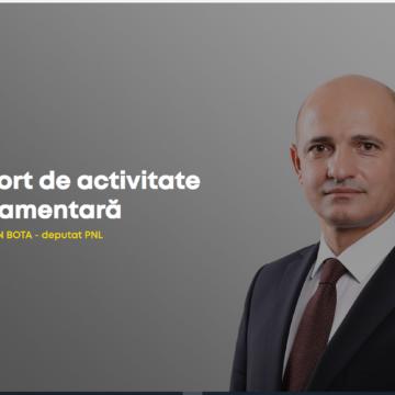 Raportul activității de deputat al lui Călin Ioan Bota, PNL Maramureș