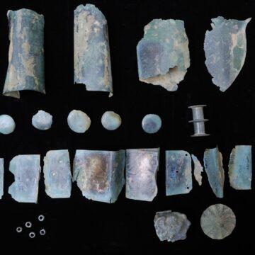 Foto | Piese și fragmente din epoca bronzului descoperită în raza orașului Sighetu Marmației