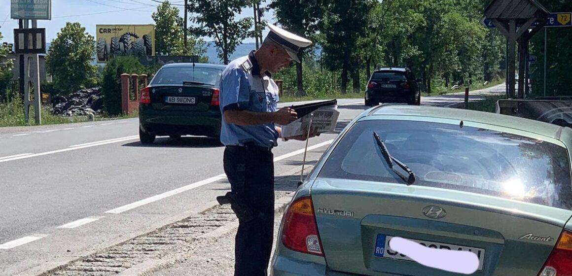 Ample acțiuni ale polițiștilor maramureșeni, au fost reținute 62 de permise de conducere