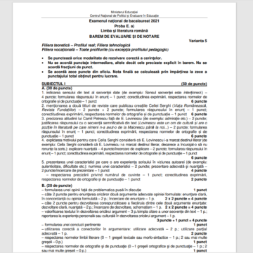 103 candidați din județul Maramureș au lipsit de la prima probă a examenului de Bacalaureat din sesiunea august-septembrie