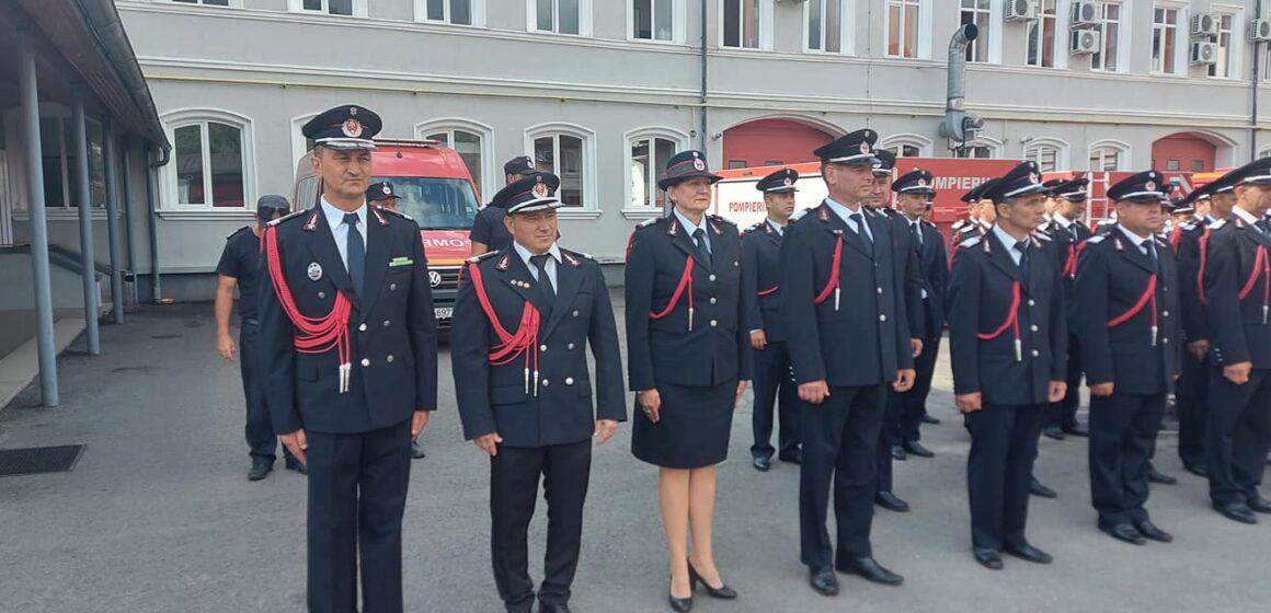 Zi festivă la Inspectoratul pentru Situații de Urgență