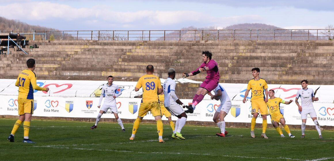 Meci de Cupa României, astăzi, pentru CS Minaur, la Satu Mare