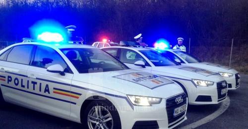 Acțiunea polițiștilor din cadrul Serviciului Rutier Maramureș – au oprit pentru control 563 de autovehicule