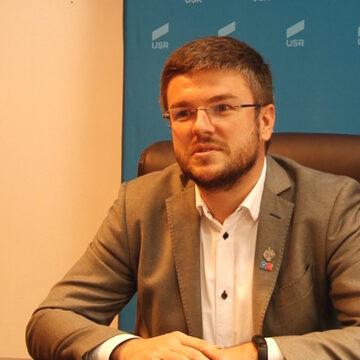 Video | Irineu Darău, candidatul la președinția USR-PLUS, și-a început campania pe meleagurile natale