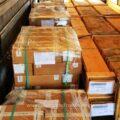 Produse electrice și electronice de 1,74 milioane de lei confiscate dintr-un automarfar la vamă