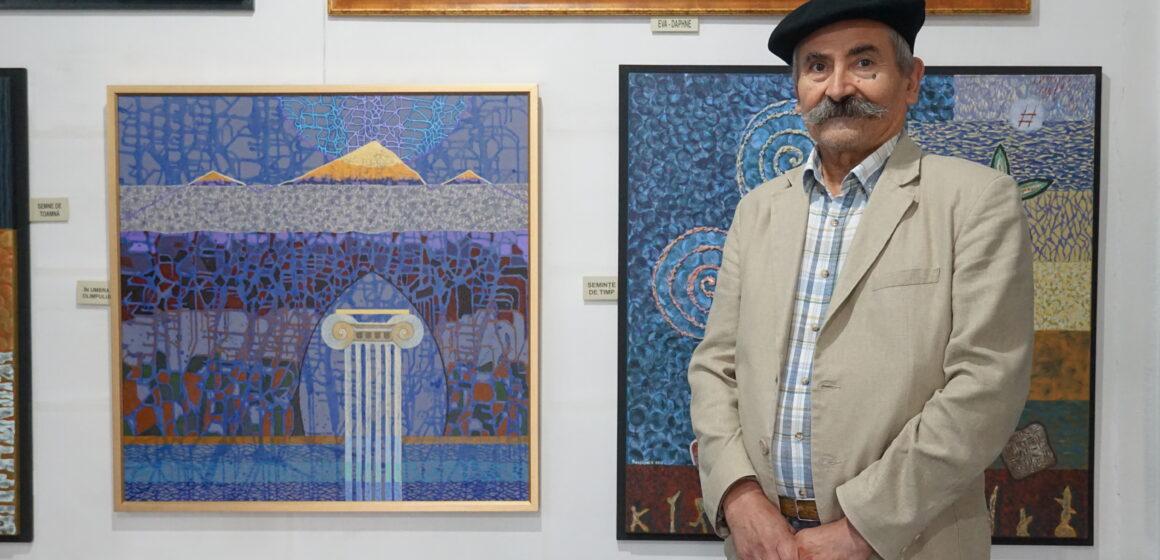 Video | Expoziția personală a artistului plastic Valentin Rozsnyai, o expoziție la care îți vine să revii