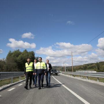 S-a finalizat reabilitarea Drumului Județean 186
