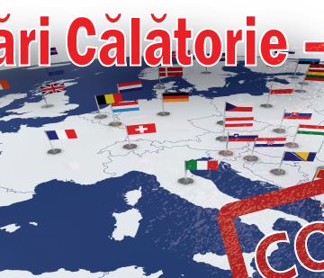 Au intrat în zona roșie Austria, Croația și alte șapte țări, iar România în zona galbenă