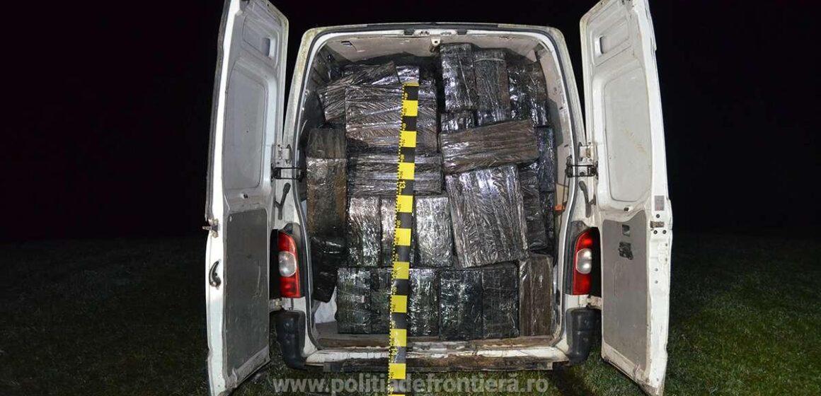 Video   Țigări în valoare de peste un milion de lei confiscate la graniță